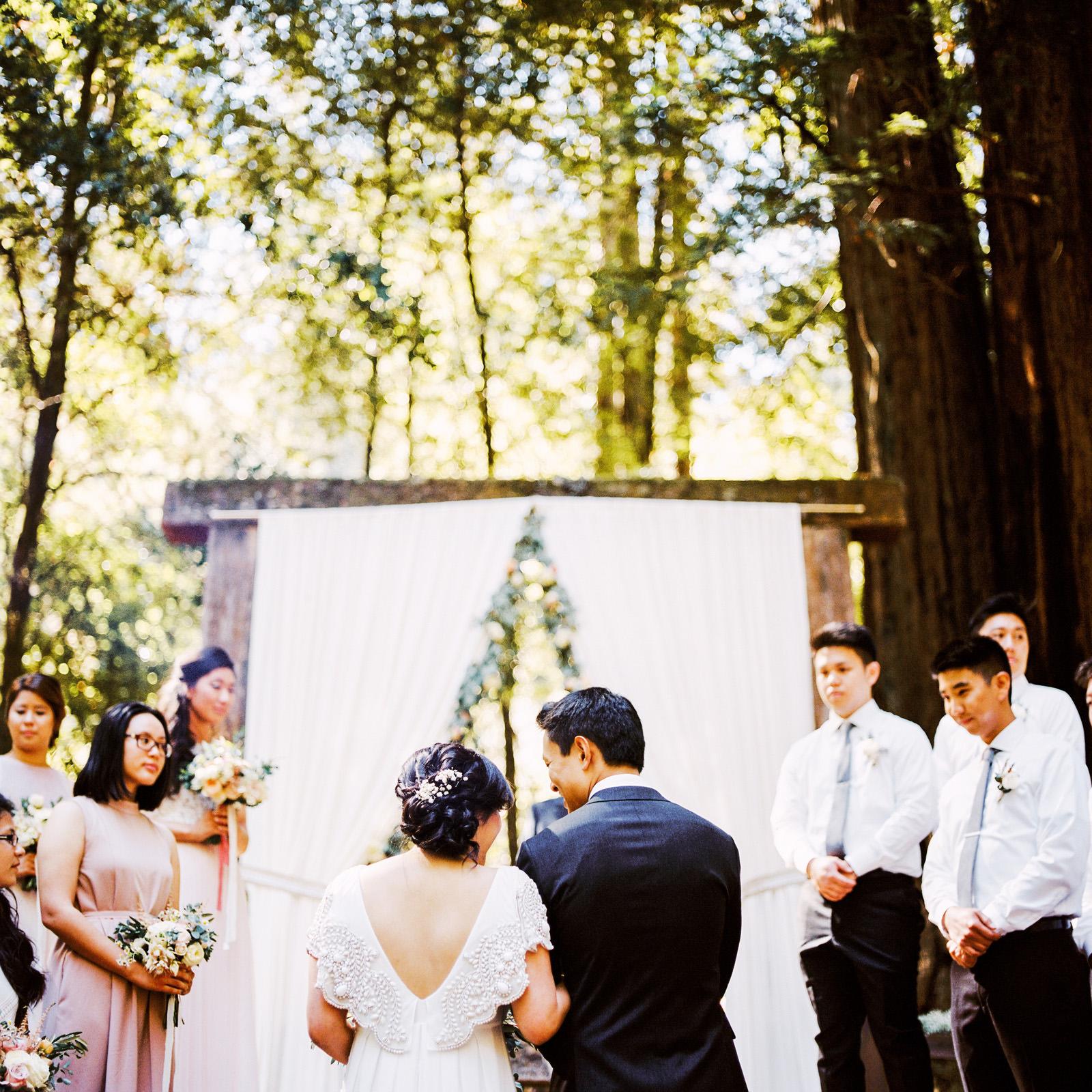 kimclay-blog-034 REDWOOD FOREST WEDDING