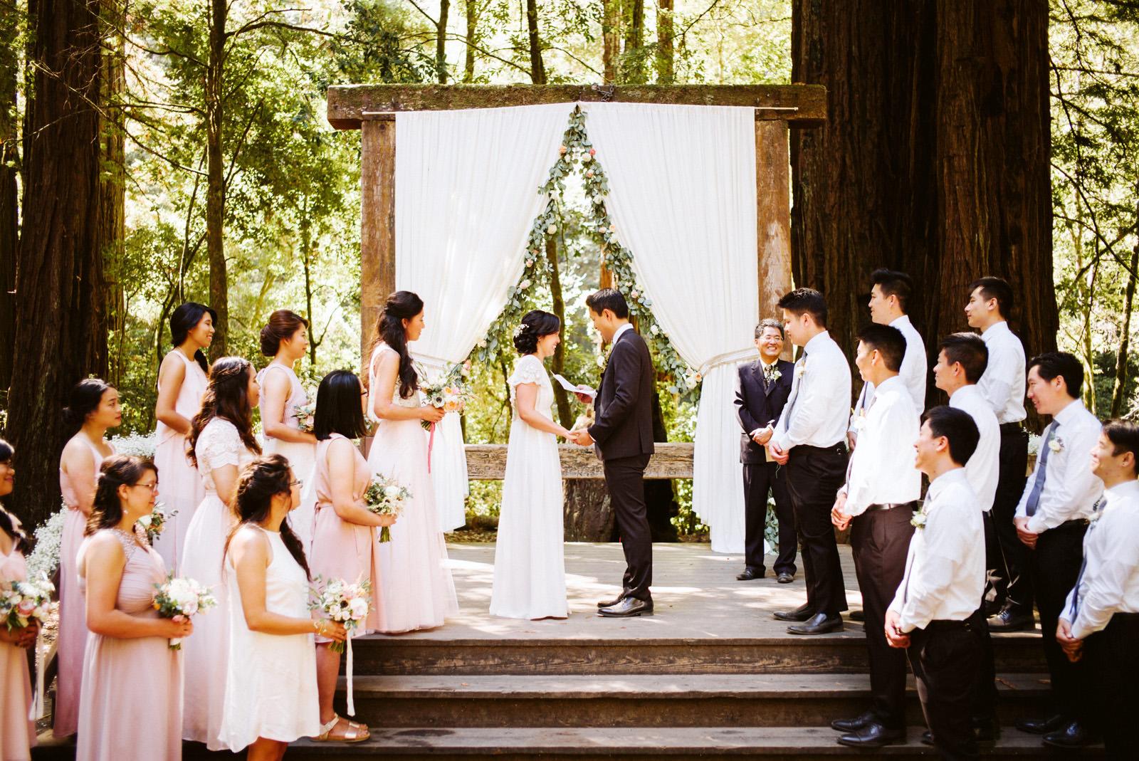 kimclay-blog-038 REDWOOD FOREST WEDDING