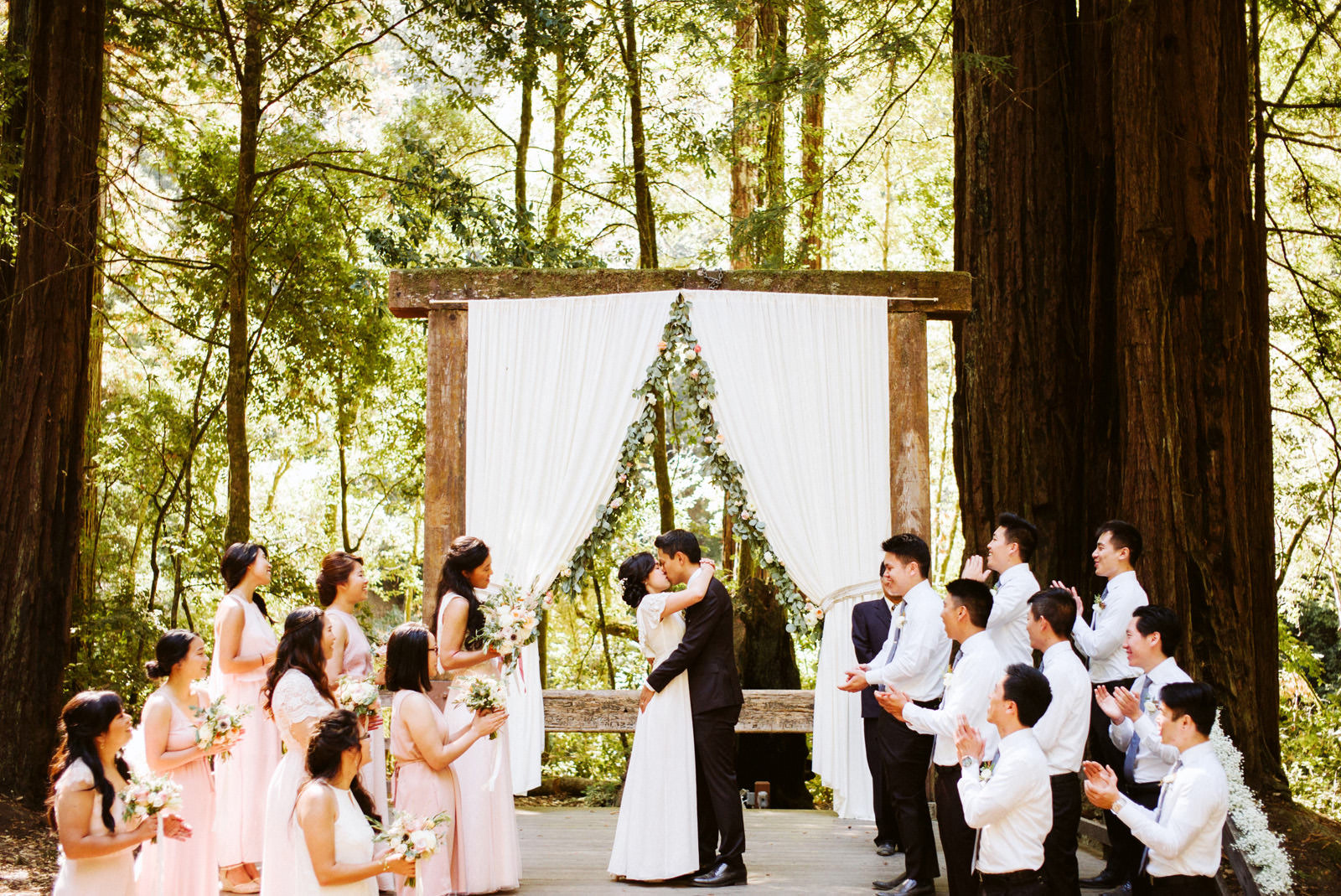 kimclay-blog-045 REDWOOD FOREST WEDDING