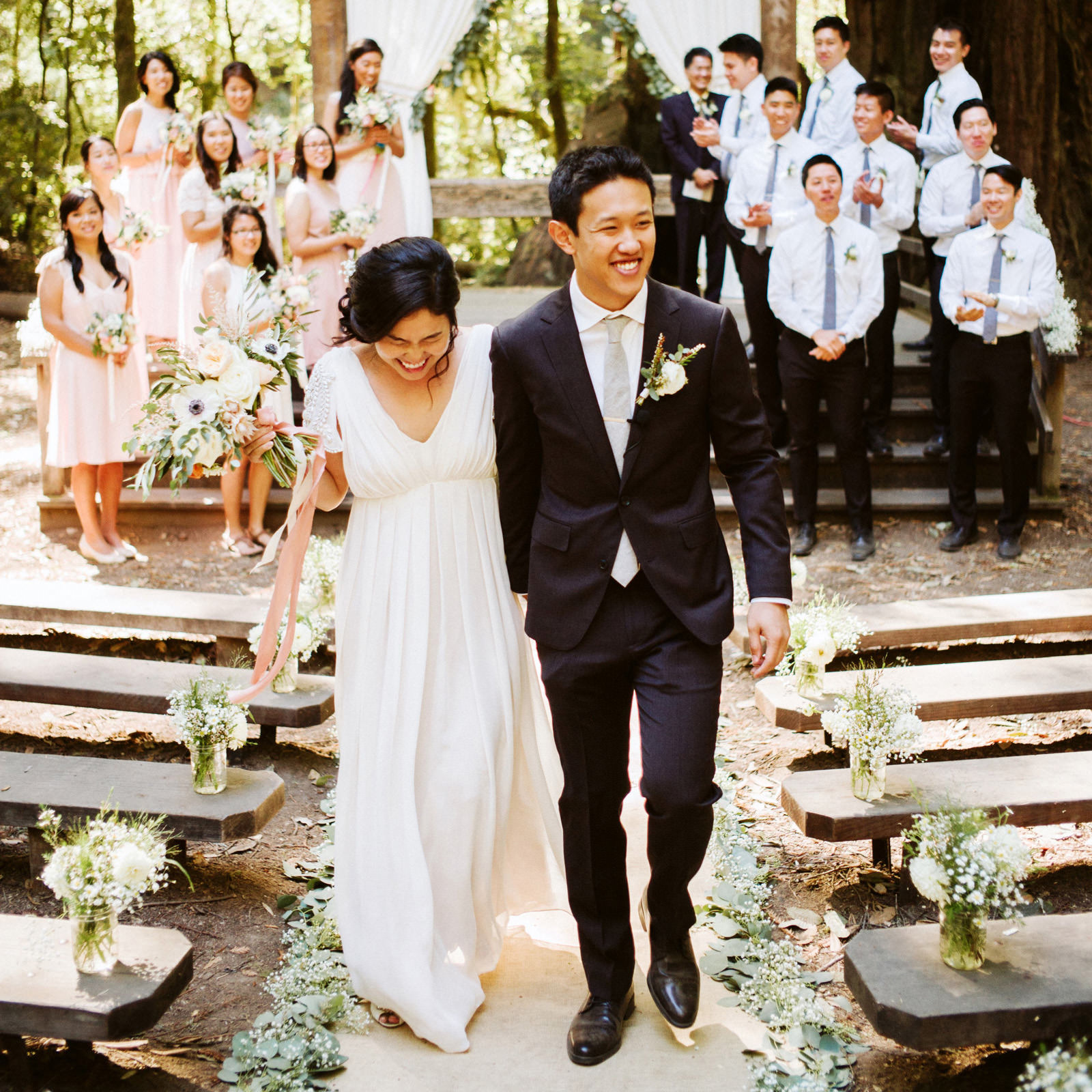 kimclay-blog-047 REDWOOD FOREST WEDDING