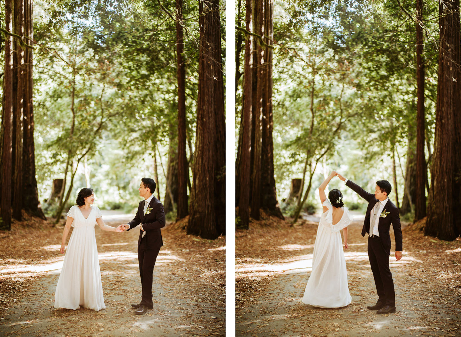 kimclay-blog-049 REDWOOD FOREST WEDDING