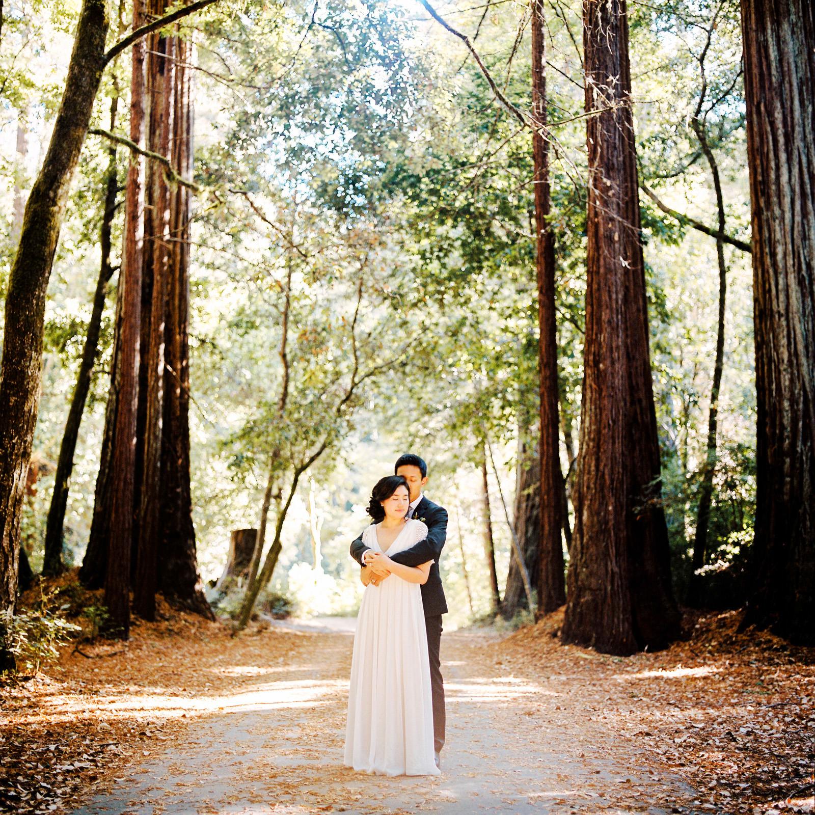 kimclay-blog-051 REDWOOD FOREST WEDDING