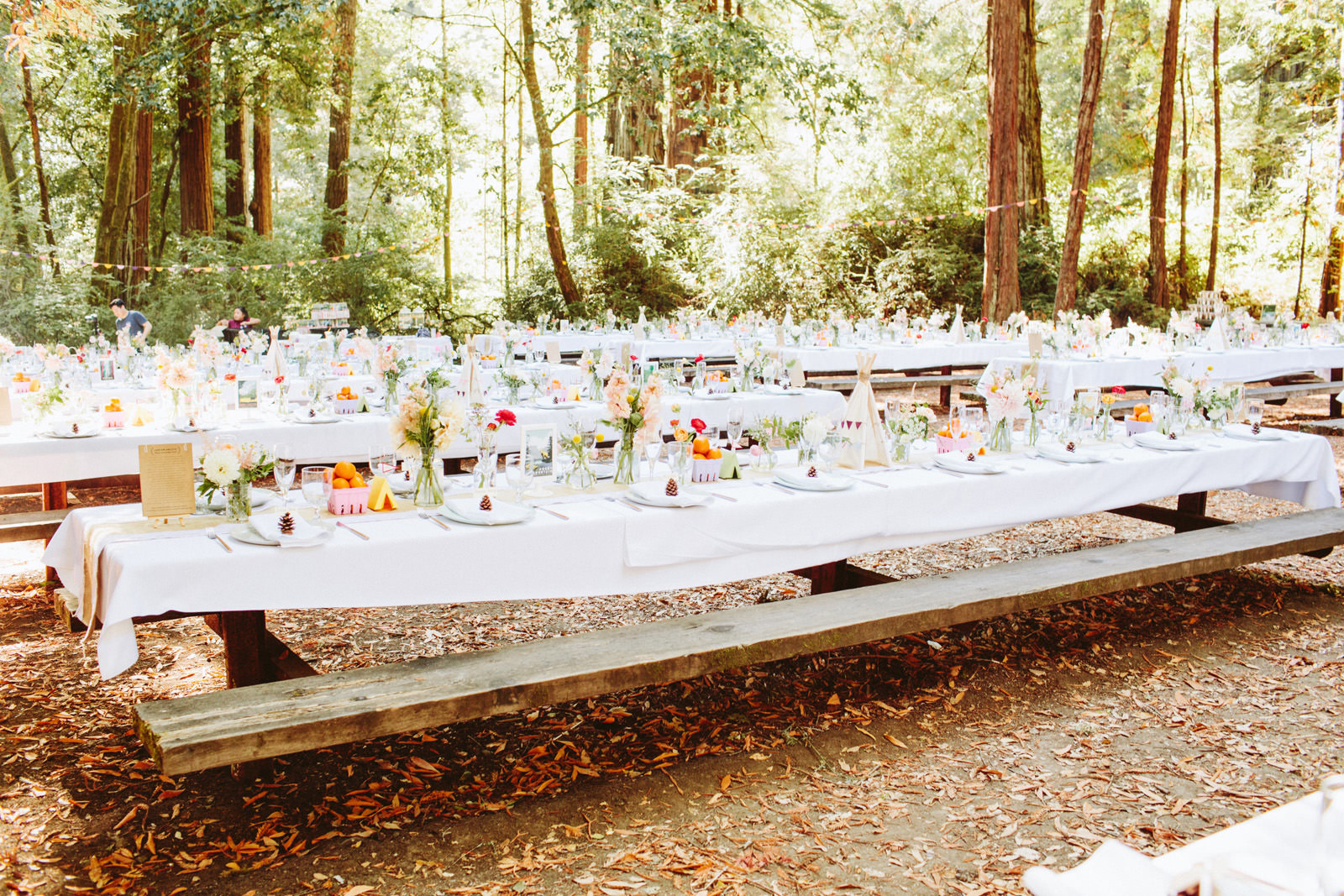 kimclay-blog-059 REDWOOD FOREST WEDDING
