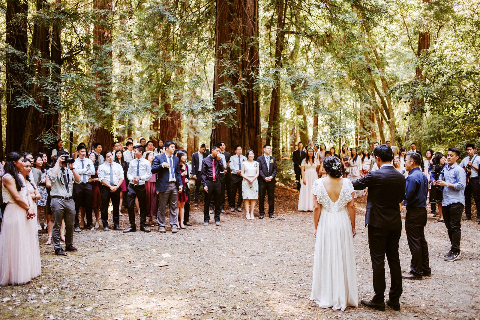 kimclay-blog-075 REDWOOD FOREST WEDDING