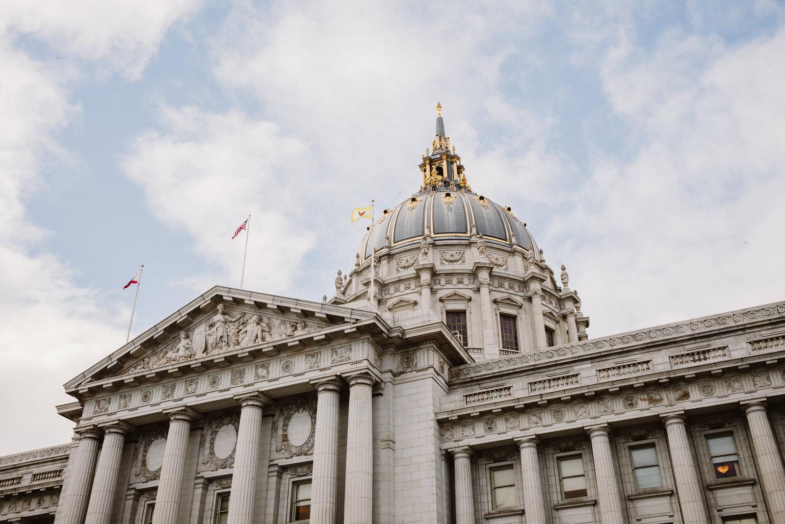 san-francisco-city-hall-elopement-02 SAN FRANCISCO CITY HALL INTIMATE WEDDING