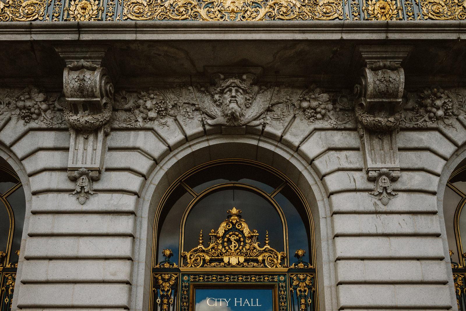 san-francisco-city-hall-elopement-03 SAN FRANCISCO CITY HALL INTIMATE WEDDING