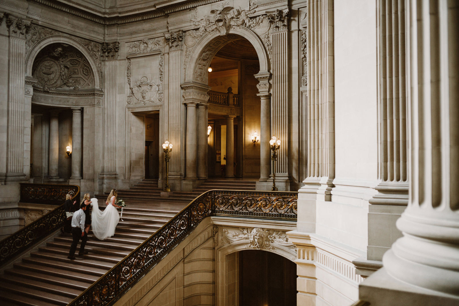 san-francisco-city-hall-elopement-04 SAN FRANCISCO CITY HALL INTIMATE WEDDING