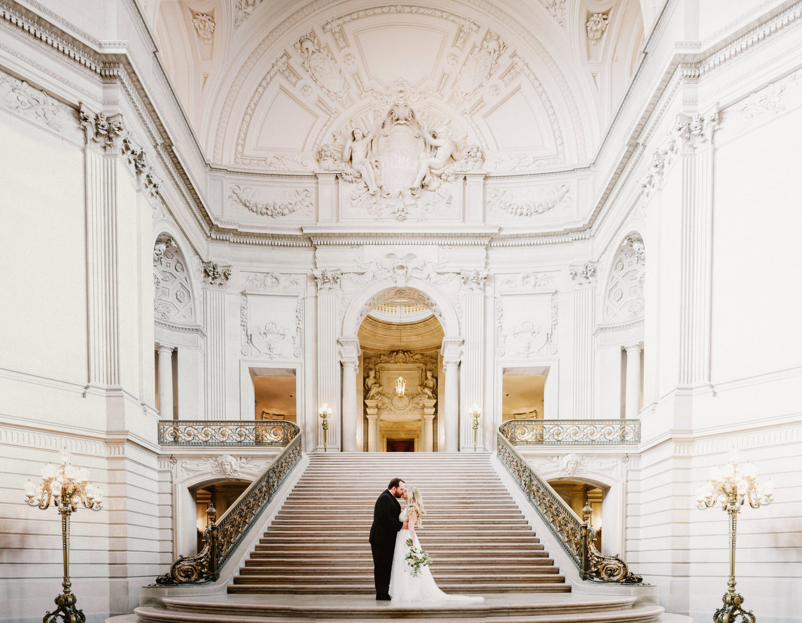 san-francisco-city-hall-elopement-07 SAN FRANCISCO CITY HALL INTIMATE WEDDING