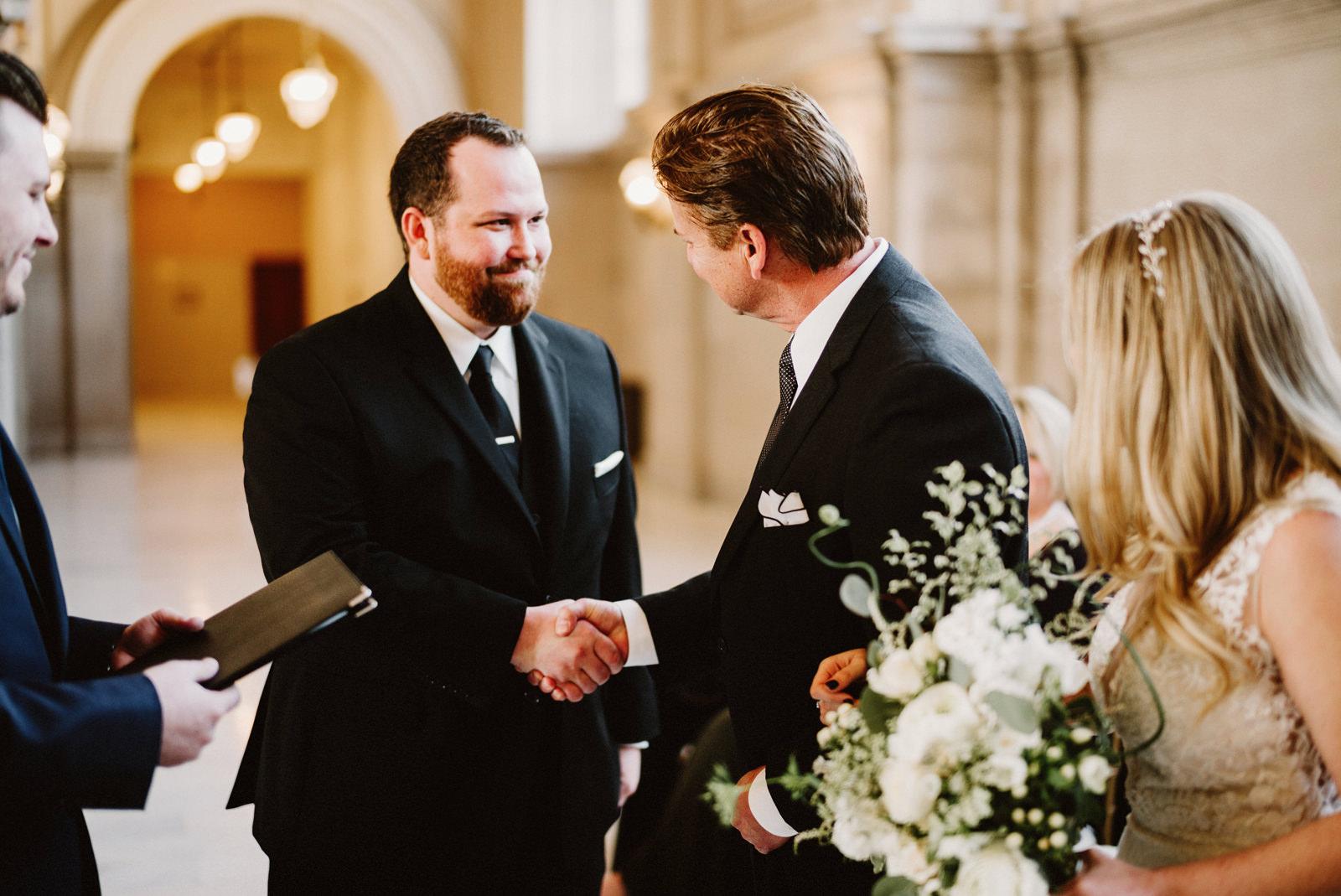 san-francisco-city-hall-elopement-14 SAN FRANCISCO CITY HALL INTIMATE WEDDING