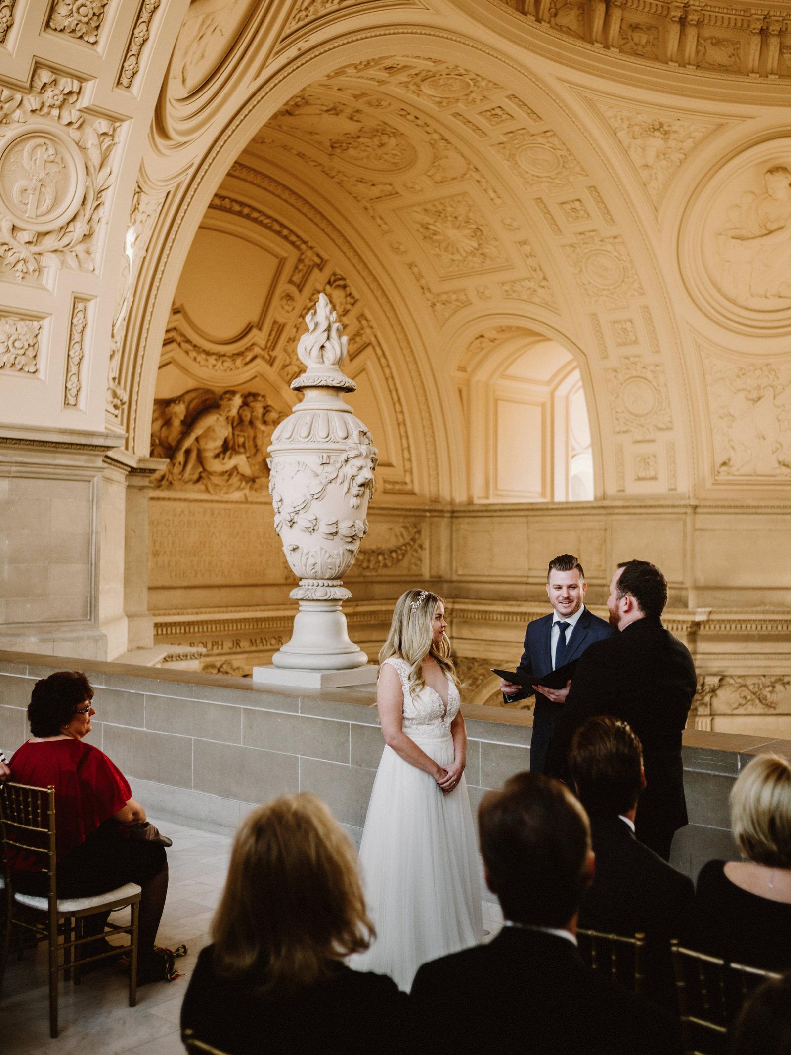 san-francisco-city-hall-elopement-16 SAN FRANCISCO CITY HALL INTIMATE WEDDING