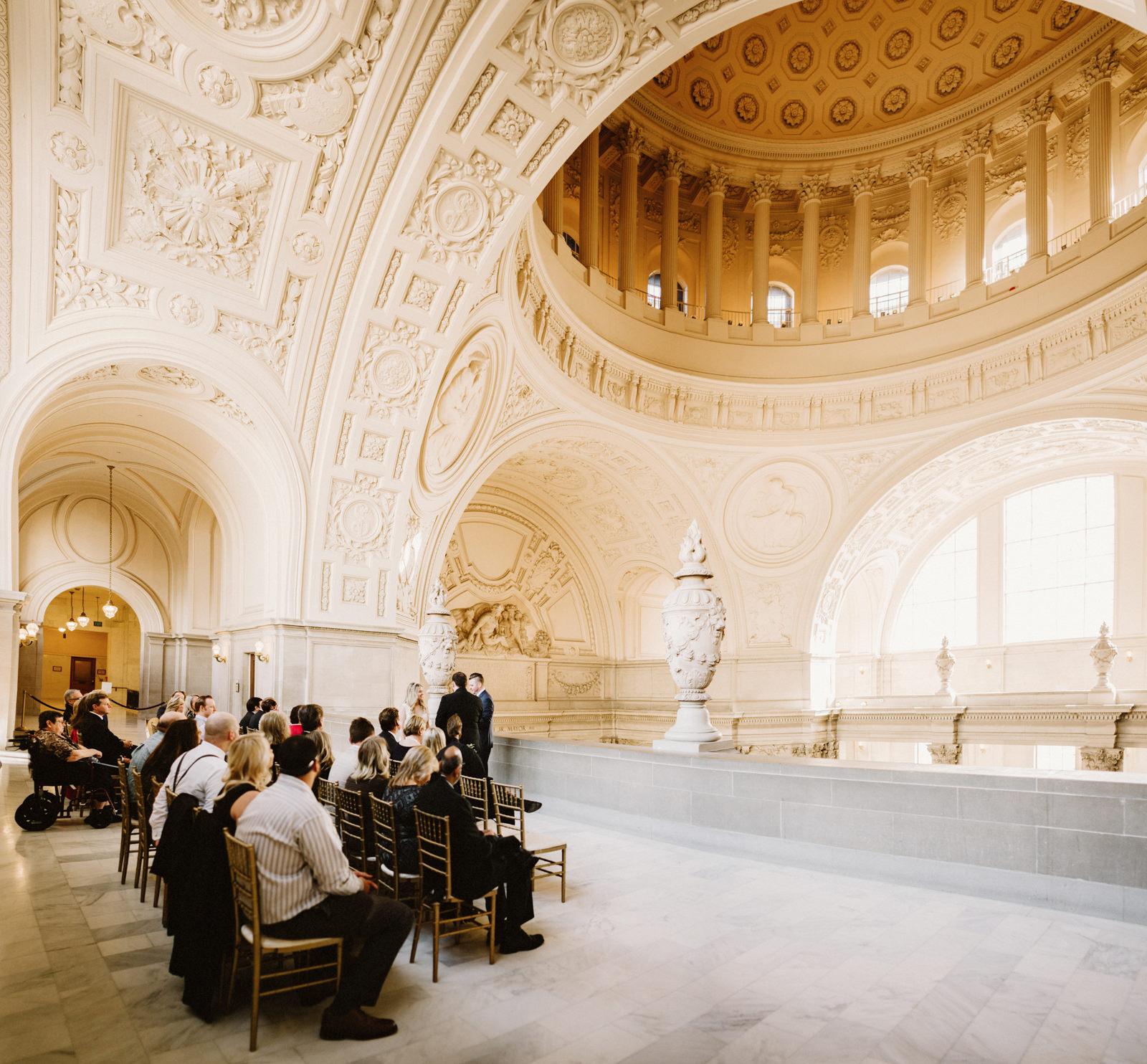 san-francisco-city-hall-elopement-17 SAN FRANCISCO CITY HALL INTIMATE WEDDING