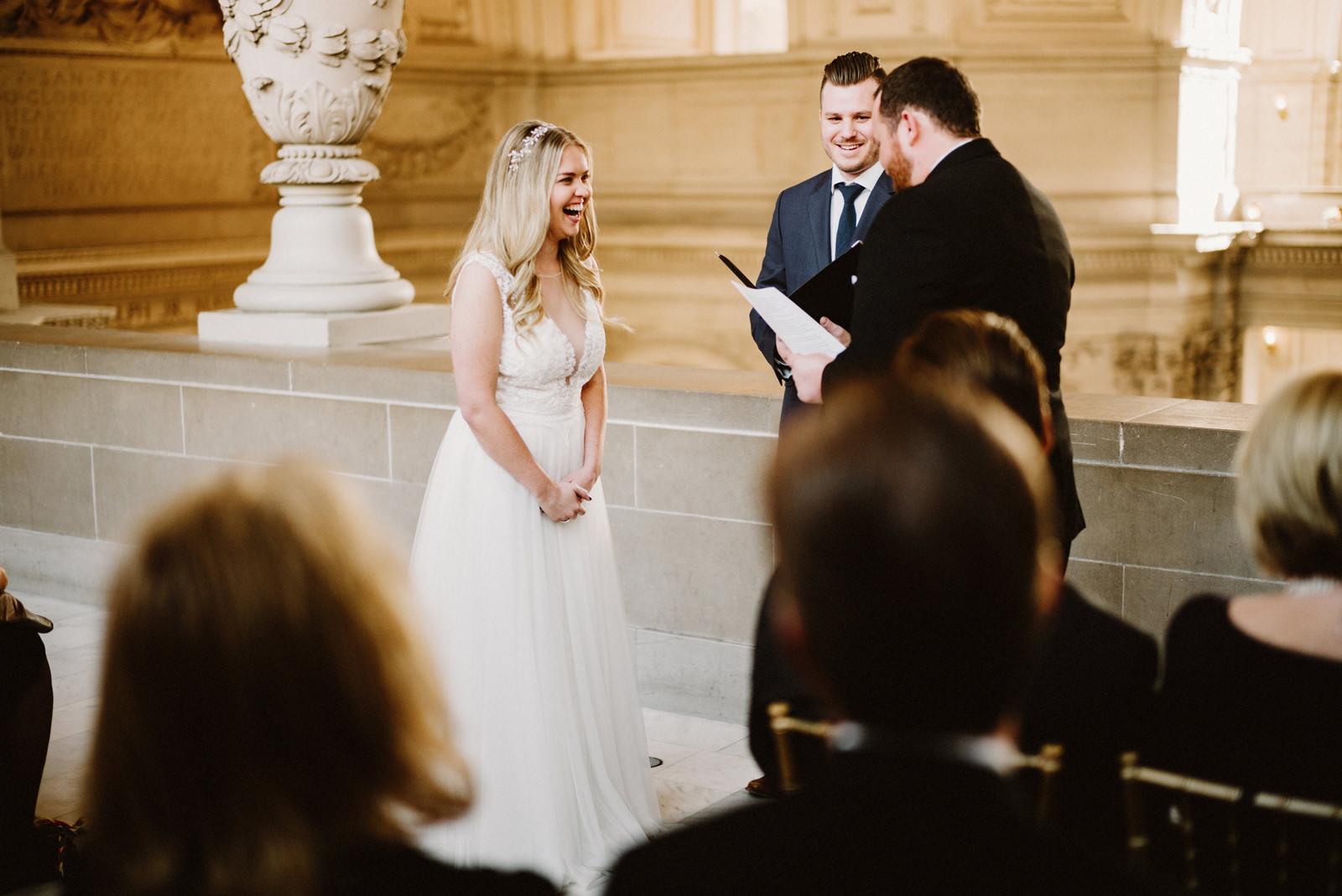 san-francisco-city-hall-elopement-19 SAN FRANCISCO CITY HALL INTIMATE WEDDING