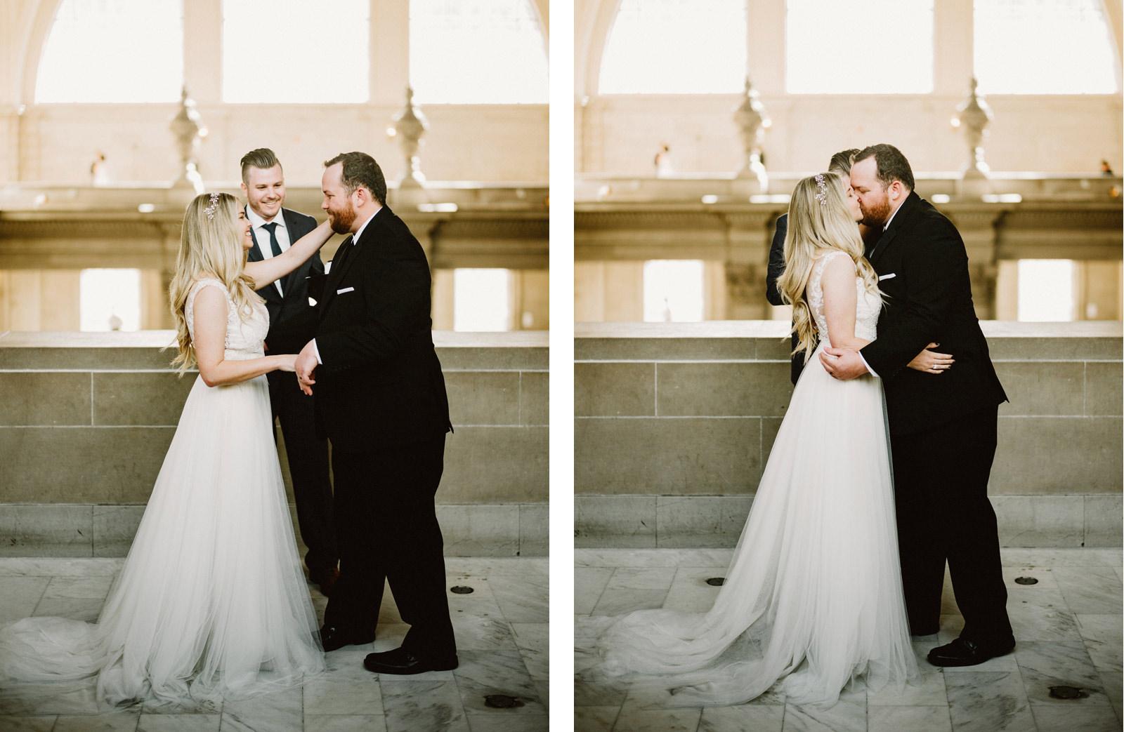 san-francisco-city-hall-elopement-24 SAN FRANCISCO CITY HALL INTIMATE WEDDING