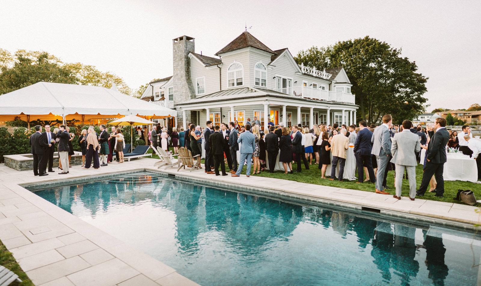 bridgeport-wedding-127 BRIDGEPORT, CONNECTICUT BACKYARD WEDDING