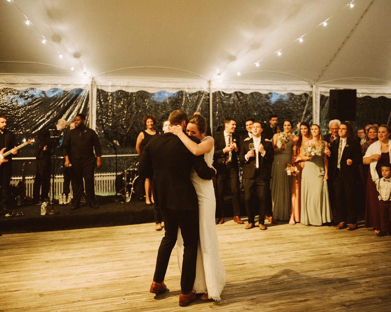 bridgeport-wedding-145 BRIDGEPORT, CONNECTICUT BACKYARD WEDDING